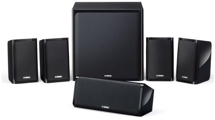 Sistema Yamaha ALTAVOCES Nsp40 5.1 100w