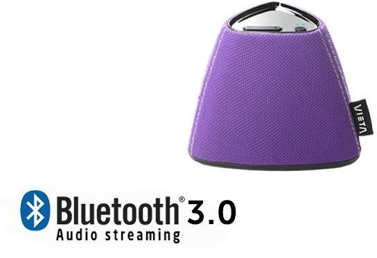 Altavoces Vieta VHBS15PL Bluetooth Violeta