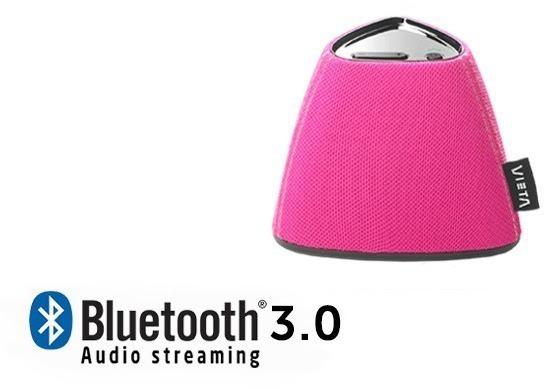 Altavoces Vieta VHBS15PK Bluetooth Rosa
