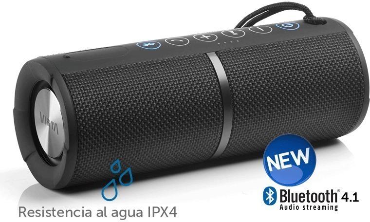 Altavoces Vieta VMBS28BK Bluetooth Negro