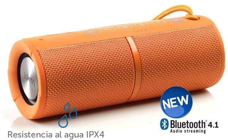 Altavoces Vieta VMBS28OR Bluetooth Naranja