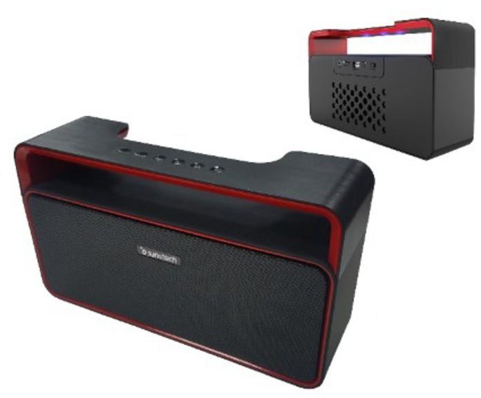 Altavoces Sunstech SPUBT900BK Bluetooth Negro