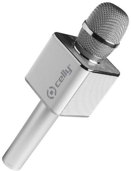 Altavoz Celly KARAOKESV 3w Usb Microfono Plata