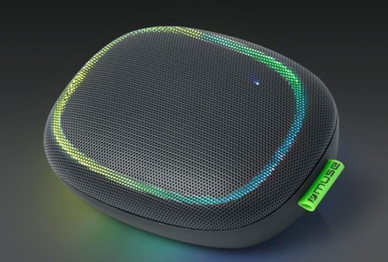 Altavoz Muse M330DJ Bluetooth Luces Colores