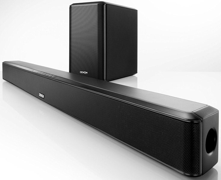 Barra Denon SONIDO Dht-s514 Dolby Digital Bl