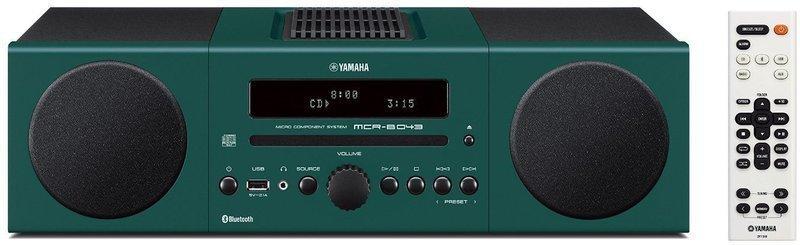 Compacto Yamaha MCRB043 Alarma Bluetooth Verde