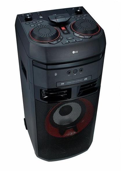 Compacto Lg OK55 500w Bestia Usb Cd Karaoke