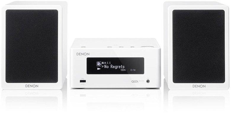 Compacto Denon CEOL Piccolo N4 Wifi Usb 65w Blanco