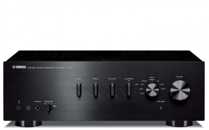Amplificador Yamaha INTEGRADO As301 120w Rms Negro