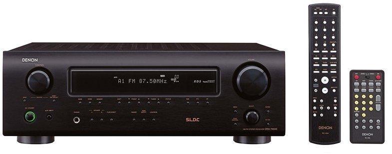 Amplificador Denon DRA700AE 105w Multizona Negro