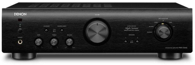 Amplificador Denon PMA720AE 85w Negro
