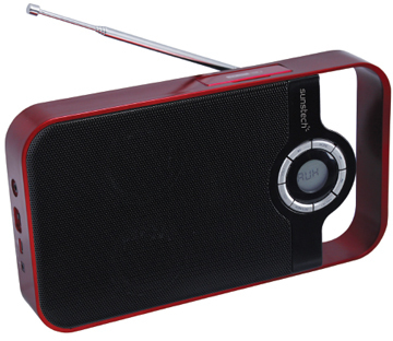 Radio Sunstech RPDS250 Roja Digital