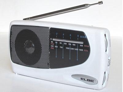 Radio Elbe RF52 Blanco Am/fm