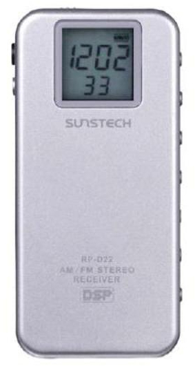 Radio Sunstech RPD22 Plata Digital