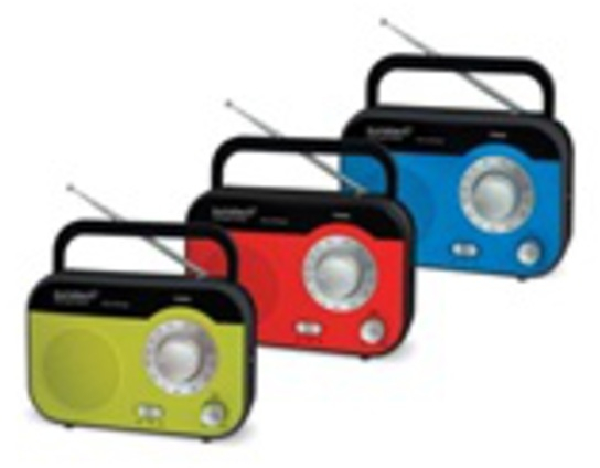 Radio Sunstech RPS560RD Roja Analogica