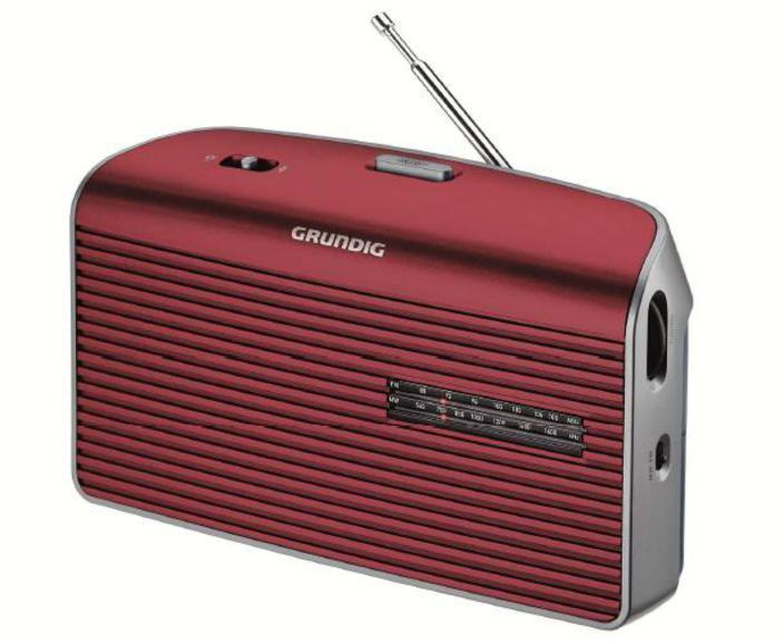 Radio Grundig MUSIC 60fm Sobremesa Roja