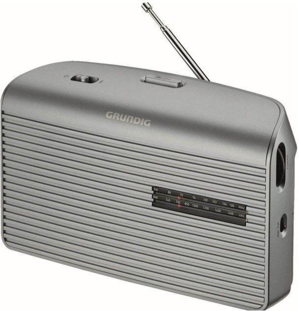 Radio Grundig MUSIC 60fm Sobremesa Plata