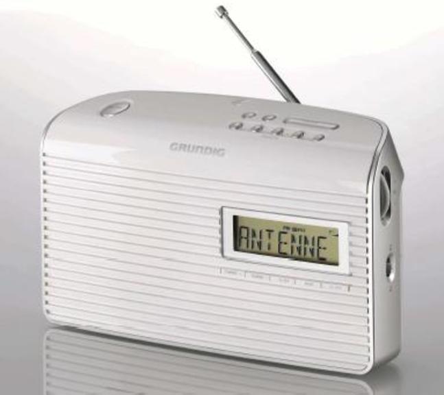 Radio Grundig MUSIC 61fm Sobremesa Blanca