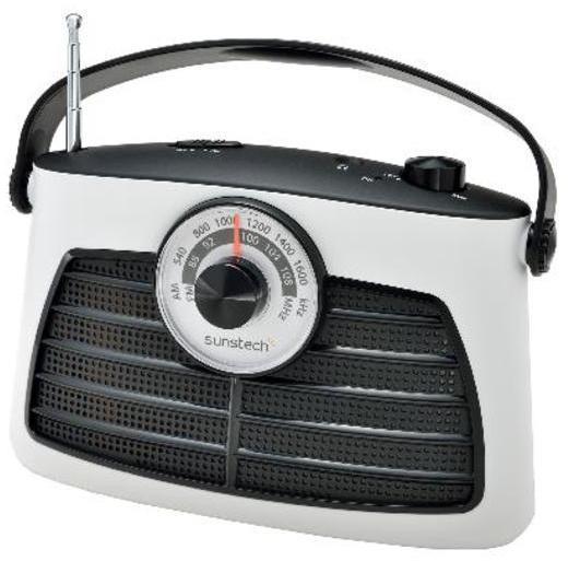 Radio Sunstech RPS660WT Blanca Analogica