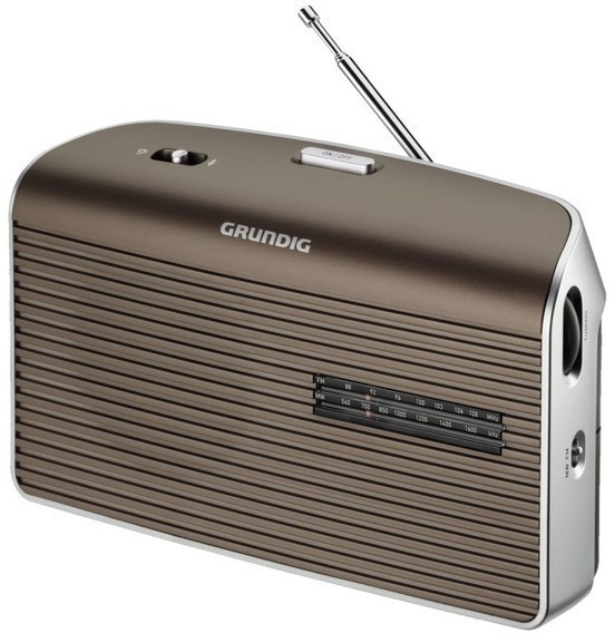Radio Grundig MUSIC 60fm Sobremesa Marron