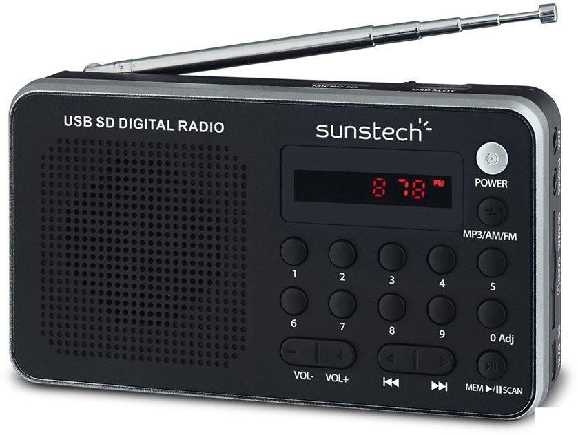 Radio Sunstech RPDS32SL Plata Digital