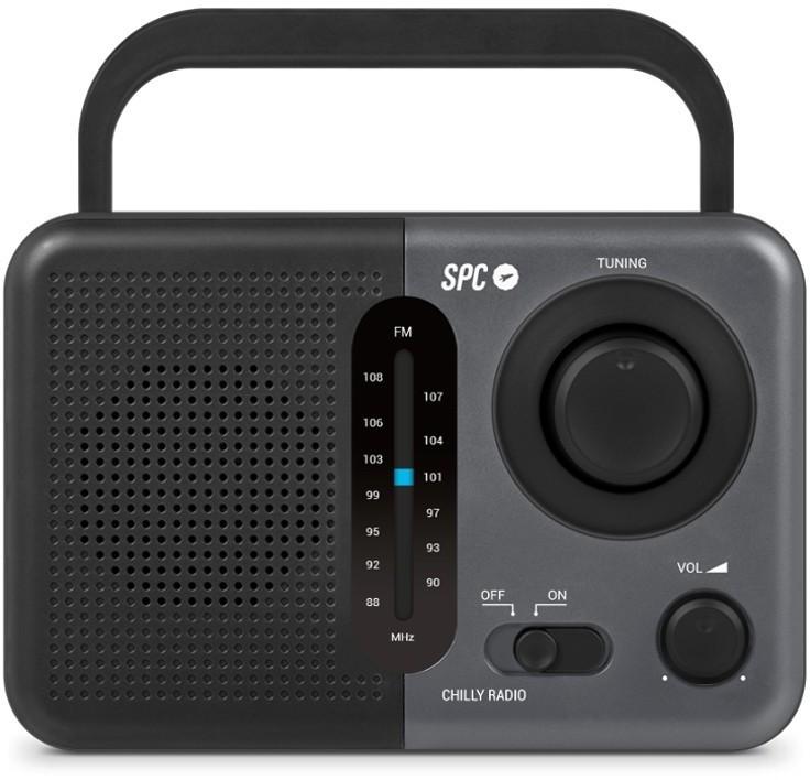 Radio Spc CHILLY 4574n Am/fm Gris/negro