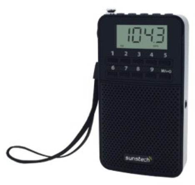 Radio Sunstech RPDS81BK Negra Digital