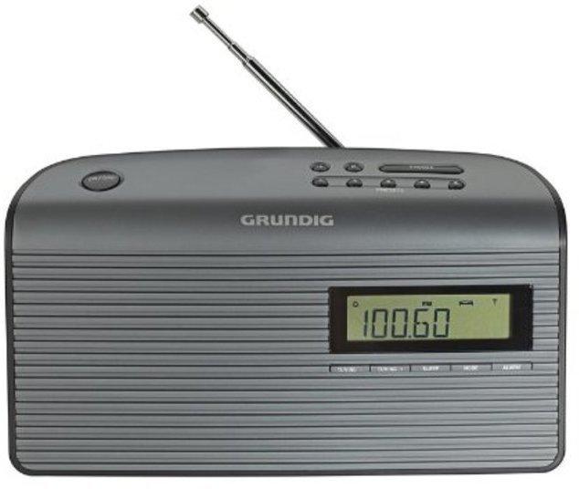Radio Grundig MUSIC 60fm Sobremesa Gris