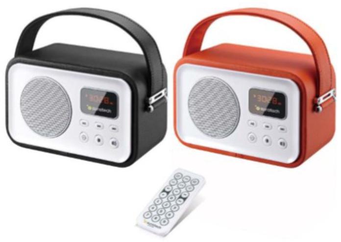 Radio Sunstech RPBT450OR Naranja Bluetooth