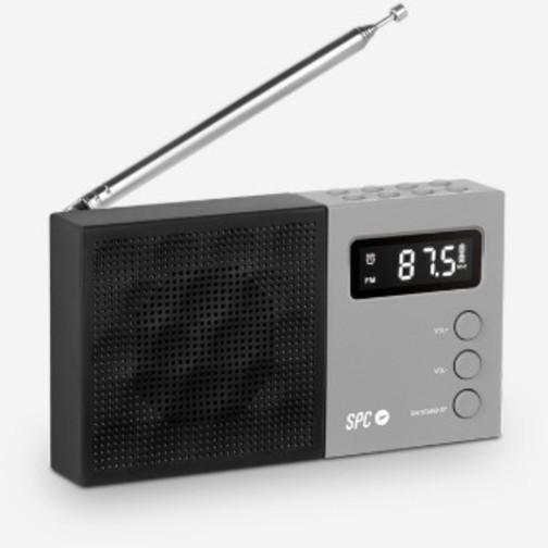 Radio Spc JETTY 4577n Am/fm Gris/negro