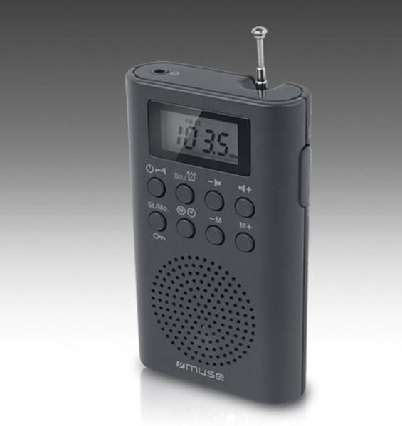 Radio Muse M03R Negro Bolsillo Digital
