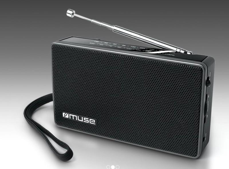 Radio Muse M030R Negro Manual