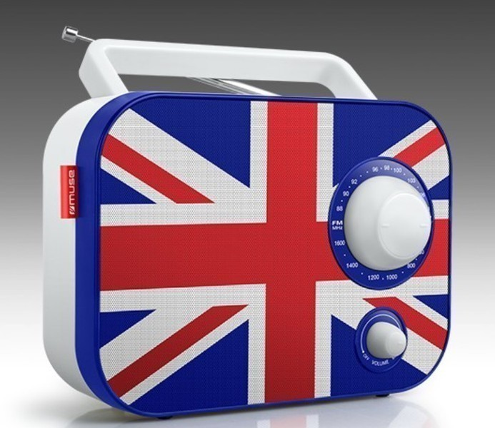 Radio Muse M062UK Manual Bandera Inglesa