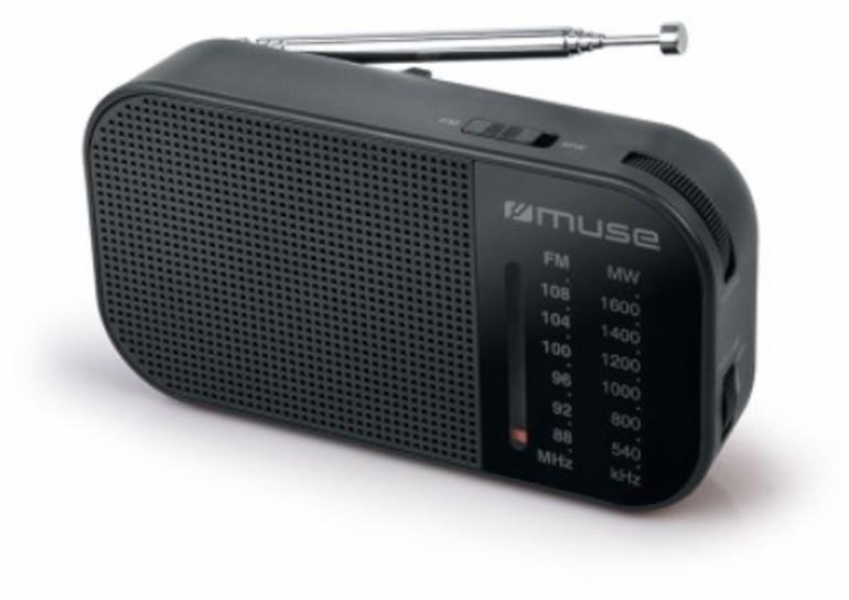Radio Muse M025R Negro Manual