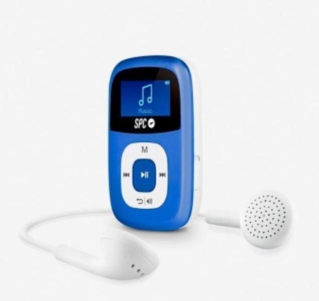 Mp3 Spc 8644A Sparrow Radio Fm 4gb Azul