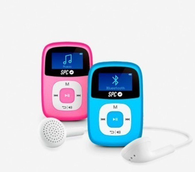 Mp3 Spc 8668A Firefly Radio Fm Bluetooth 8gb Azul