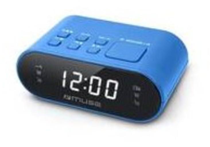 Radioreloj Muse M10BL Digital Azul