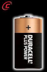Blister Duracell PLUS C (lr14)