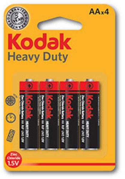 Pila Kodak AA Heavy-duty Lr06 Blister 4 Unidades
