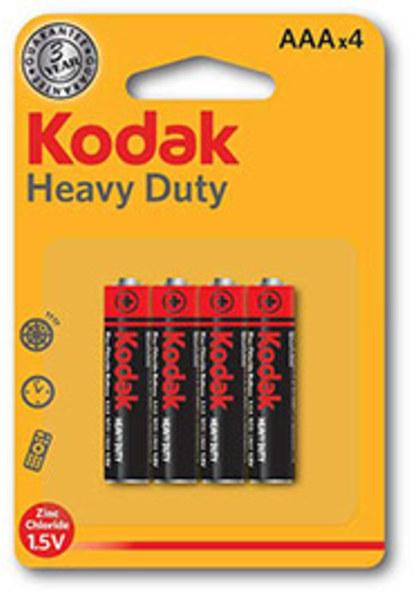 Pila Kodak AAA Heavy-duty Lr03 Blister 4 Unidades