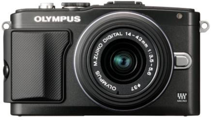 OLYMPUS CAMARA FOTO EPL5 NEGRA 17,2MP TACTIL