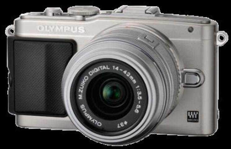 Camara Olympus FOTO Epl5 Plata 17,2mp Tactil