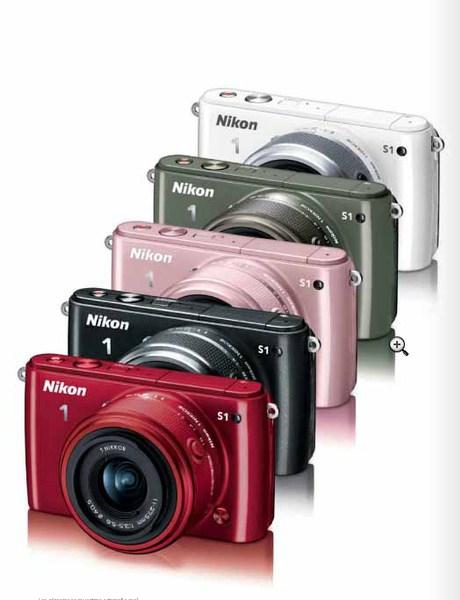 Camara Nikon S1 Roja+ Objetivo 11/27.5mm 10.1mp