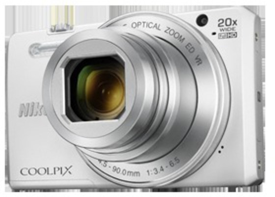 Camara Nikon COOLPIX S7000 Blanca 16mp Wifi 20x