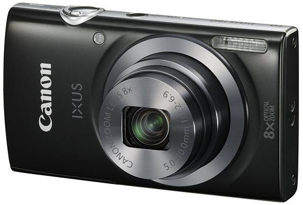 Canon camara foto ixus185 20mpx zoom 8x opt negra