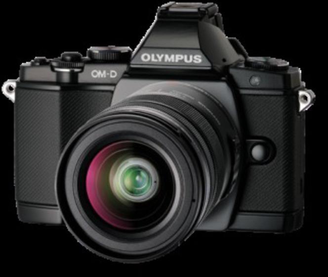 Camara Olympus FOTO Em5 + Objetivo 12-50mm Negro