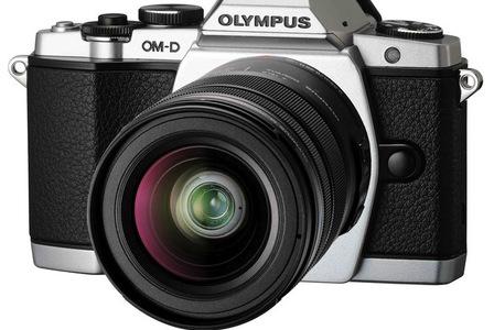 OLYMPUS CAMARA FOTO EM5 + OBJETIVO 12-50MM PLATA