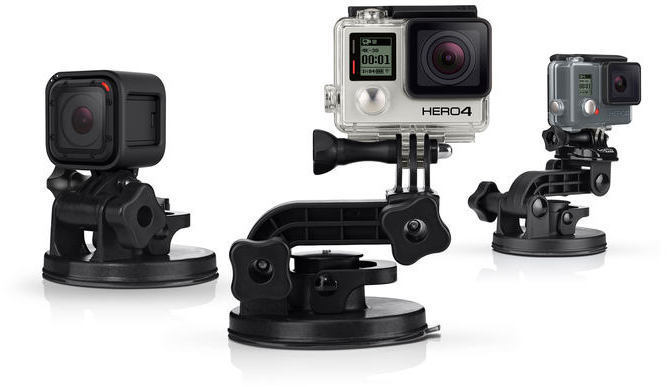 Ventosa Gopro SUCTION Cup. 240km/h