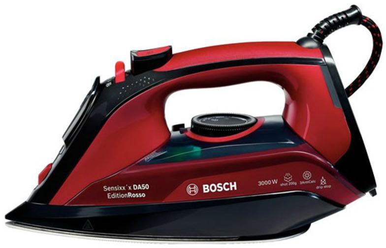 Plancha Bosch TDA503001P Vapor 3000w Roja