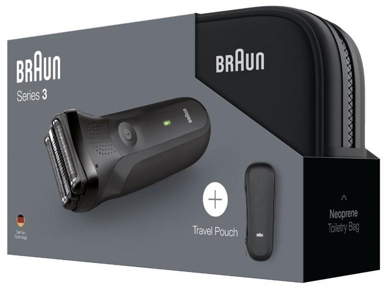 Afeitadora Braun SERIE3 300ts Estuche-